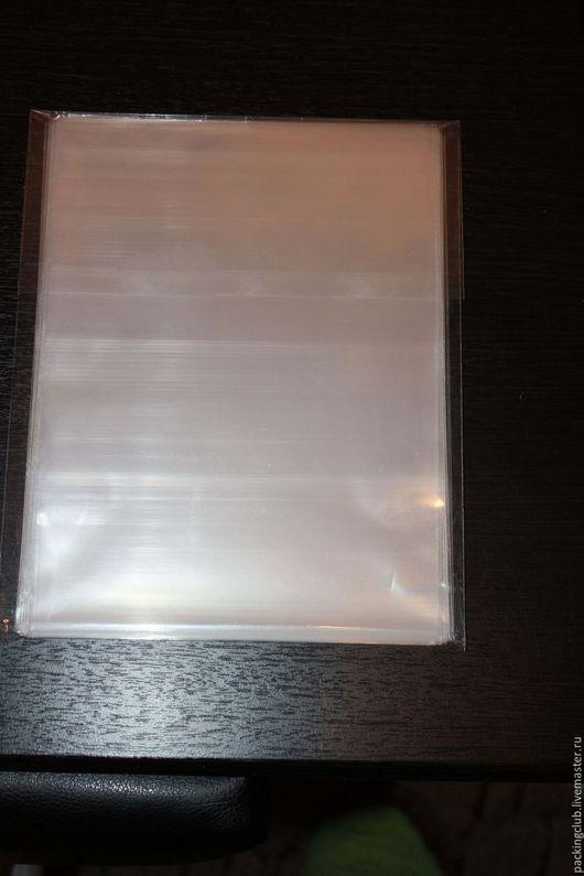 Упаковка ручной работы. Ярмарка Мастеров - ручная работа. Купить Пакет прозрачный 18х25см. Handmade. Пакет, пакетик, пакет подарочный