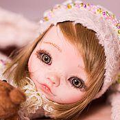 Куклы и игрушки ручной работы. Ярмарка Мастеров - ручная работа Тедди долл Ева. Handmade.