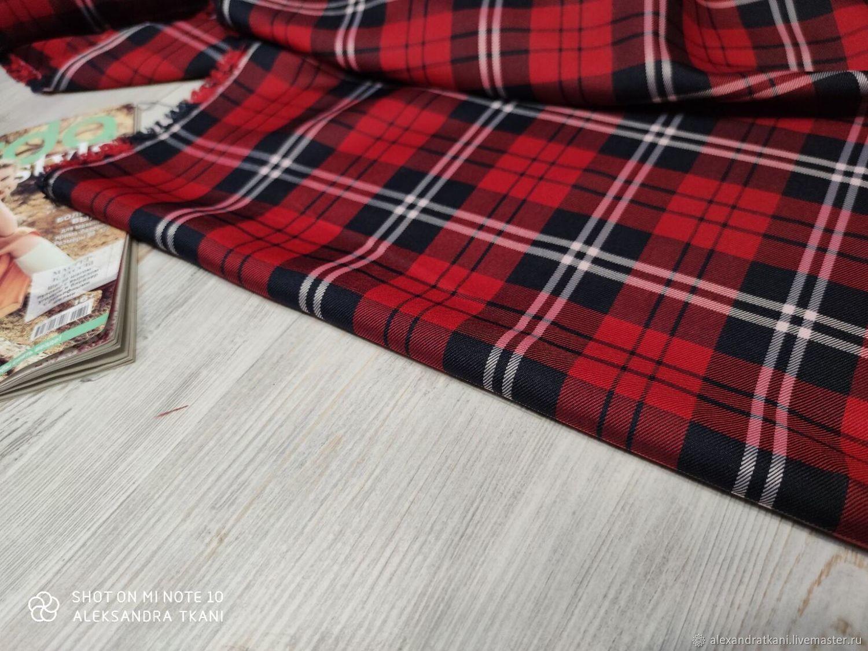 Ткань костюмная TTR Checks №3, Ткани, Ростов-на-Дону,  Фото №1