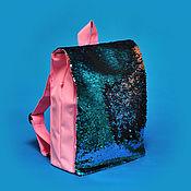 Сумки ручной работы. Ярмарка Мастеров - ручная работа Рюкзачки с пайетками двусторонними. Handmade.