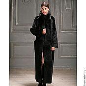 Одежда ручной работы. Ярмарка Мастеров - ручная работа пальто из бобра, пальто из стриженого бобра. Handmade.