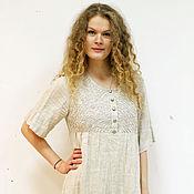 Одежда ручной работы. Ярмарка Мастеров - ручная работа платье Светлое. Handmade.