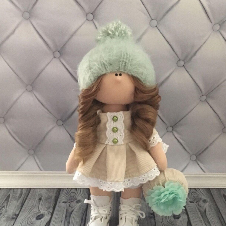 Куклы тыквоголовки ручной работы. Ярмарка Мастеров - ручная работа. Купить Текстильная кукла ручной работы. Handmade. Кукла Тильда