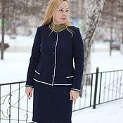 "Одежда handmade. Livemaster - original item Warm suit ""Classic-2"". Handmade."