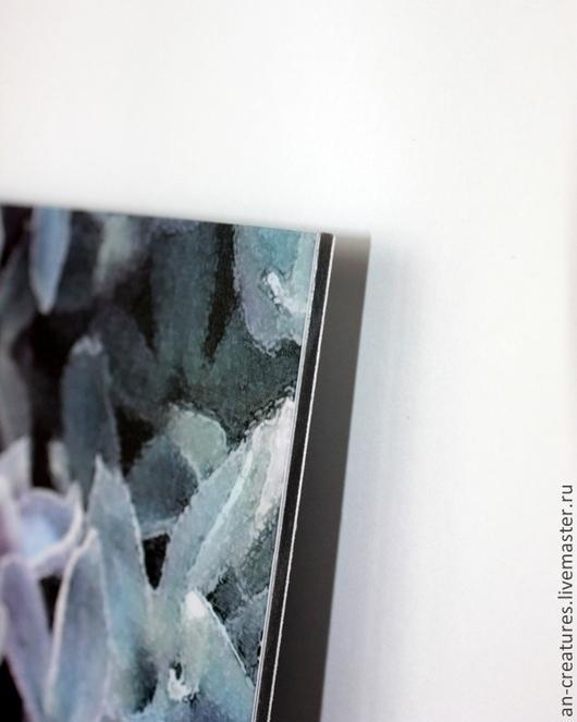 Пример оформления работы\ Накатка изображения на композитный материал, эффект глубины и игры цветов, ламинация © Angelika Nabokova