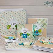 Подарки к праздникам ручной работы. Ярмарка Мастеров - ручная работа Комплект для новорожденного мальчика. Handmade.