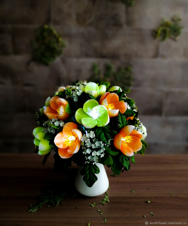 Bouquet-lamp ' Forest flower', Nightlights, Surgut,  Фото №1