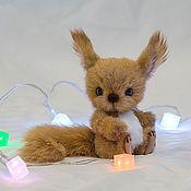 Куклы и игрушки ручной работы. Ярмарка Мастеров - ручная работа Бельчонок Еник. Handmade.