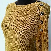"""Одежда ручной работы. Ярмарка Мастеров - ручная работа Пуловер  """"Крокус"""". Handmade."""