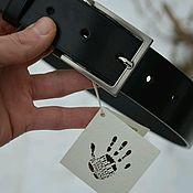 Ремни ручной работы. Ярмарка Мастеров - ручная работа Ремни:  Кожаный ремень. Handmade.