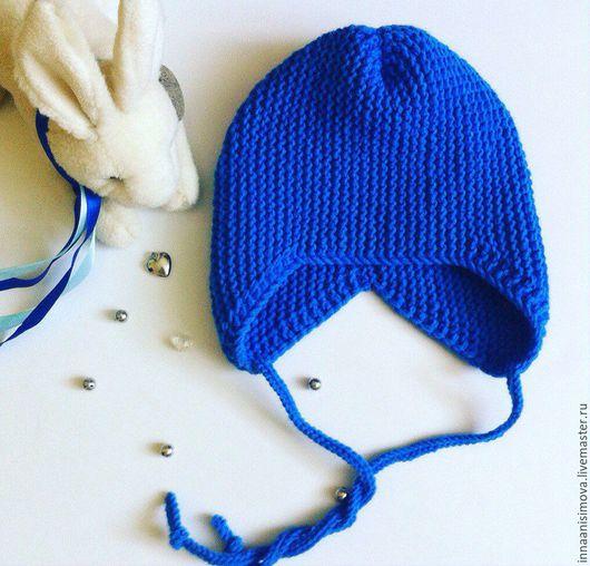 Для новорожденных, ручной работы. Ярмарка Мастеров - ручная работа. Купить Шапочка. Handmade. Комбинированный, шапочка детская, шапочка для малыша