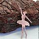 """Кулоны, подвески ручной работы. Заказать Медная подвеска """"Балерина"""". HANDMADE  MELNIKOVA OLGA. Ярмарка Мастеров. Медная подвеска балерина"""