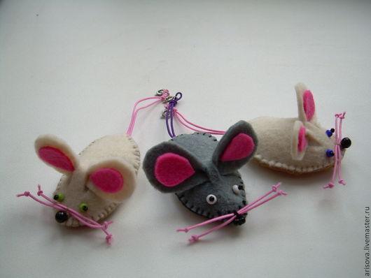 Игрушки животные, ручной работы. Ярмарка Мастеров - ручная работа. Купить Мышата. Handmade. Игрушка ручной работы, мышка