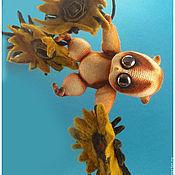Куклы и игрушки ручной работы. Ярмарка Мастеров - ручная работа Лемурчик  Ойюшка. Handmade.