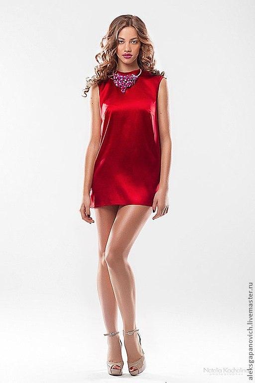 Красное платье доставка