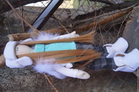 Детская ручной работы. Ярмарка Мастеров - ручная работа. Купить Интерьерная кукла Текстильная. Handmade. Принцесса, Принцесса на горошине, хлопок