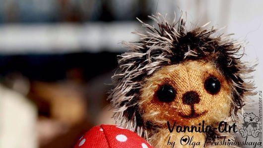Мишки Тедди ручной работы. Ярмарка Мастеров - ручная работа. Купить Ежик Вовка. Handmade. Игрушки ручной работы, диски