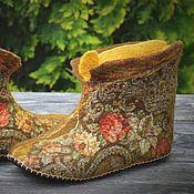 """Обувь ручной работы. Ярмарка Мастеров - ручная работа Чуни """"Аромат леса"""". Handmade."""