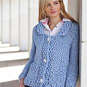 Одежда handmade. Livemaster - original item jacket color pale blue. Handmade.