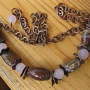 handmade. Livemaster - original item Necklace-Boho