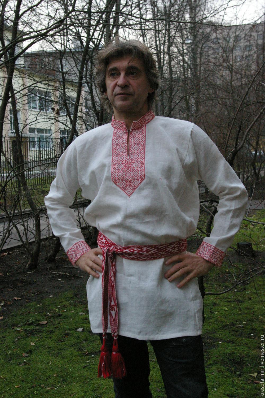 """Рубаха мужская """"Око Рода"""", Народные рубахи, Санкт-Петербург, Фото №1"""