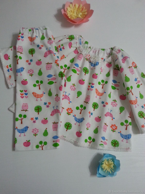 """Пижамка  для девочки """"Как у мамы в детстве"""""""