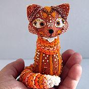 Куклы и игрушки ручной работы. Ярмарка Мастеров - ручная работа Магическая лиса :-). Handmade.