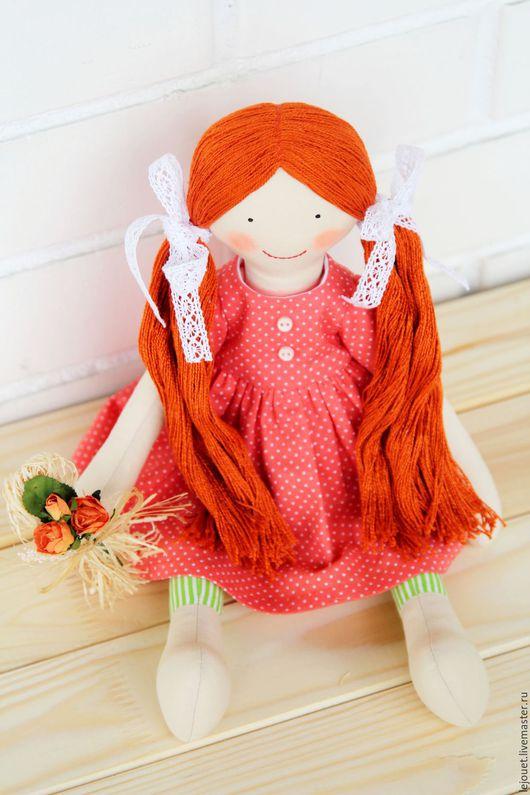 """Коллекционные куклы ручной работы. Ярмарка Мастеров - ручная работа. Купить Кукла игровая """"Рыженькая"""". Handmade. Кукла игровая"""