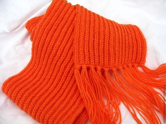Шарфы и шарфики ручной работы. Ярмарка Мастеров - ручная работа. Купить Шарф теплый мягкий зимний, теплый шарф, осень, зима. Handmade.