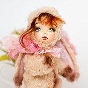 Куклы и игрушки ручной работы. Ярмарка Мастеров - ручная работа Тедди долл Ариша,зайка. Handmade.