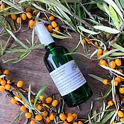 Косметика ручной работы handmade. Livemaster - original item Natural Sea Buckthorn hydrolate (berries). Handmade.