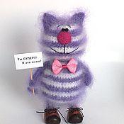 Куклы и игрушки ручной работы. Ярмарка Мастеров - ручная работа Кот Семен (Коты, Вязаная игрушка, подарок). Handmade.