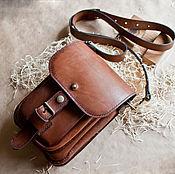 Сумки и аксессуары handmade. Livemaster - original item Leather bag casual leather bag. Handmade.