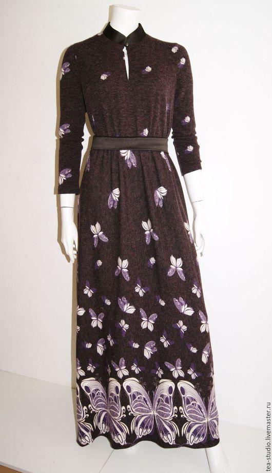 Платья ручной работы. Ярмарка Мастеров - ручная работа. Купить Платье    модель  9164. Handmade. Бордовый, однотонный, платье