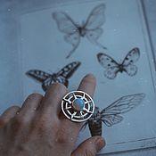 Кольца ручной работы. Ярмарка Мастеров - ручная работа Кольцо «солнечная система». Handmade.
