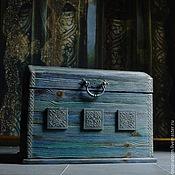 """Для дома и интерьера ручной работы. Ярмарка Мастеров - ручная работа Сундук """"Сказочный"""". Handmade."""