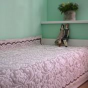 """Для дома и интерьера ручной работы. Ярмарка Мастеров - ручная работа """"На кровати кружева"""" покрывало. Handmade."""