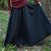 """Одежда ручной работы. Ярмарка Мастеров - ручная работа Осенняя юбка """"Холодный ветер"""". Handmade."""
