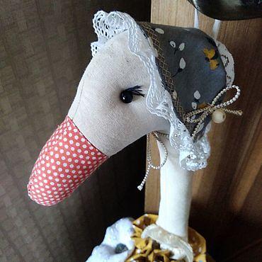 Для дома и интерьера ручной работы. Ярмарка Мастеров - ручная работа Пакетница пижамница гусыня  Адель. Handmade.