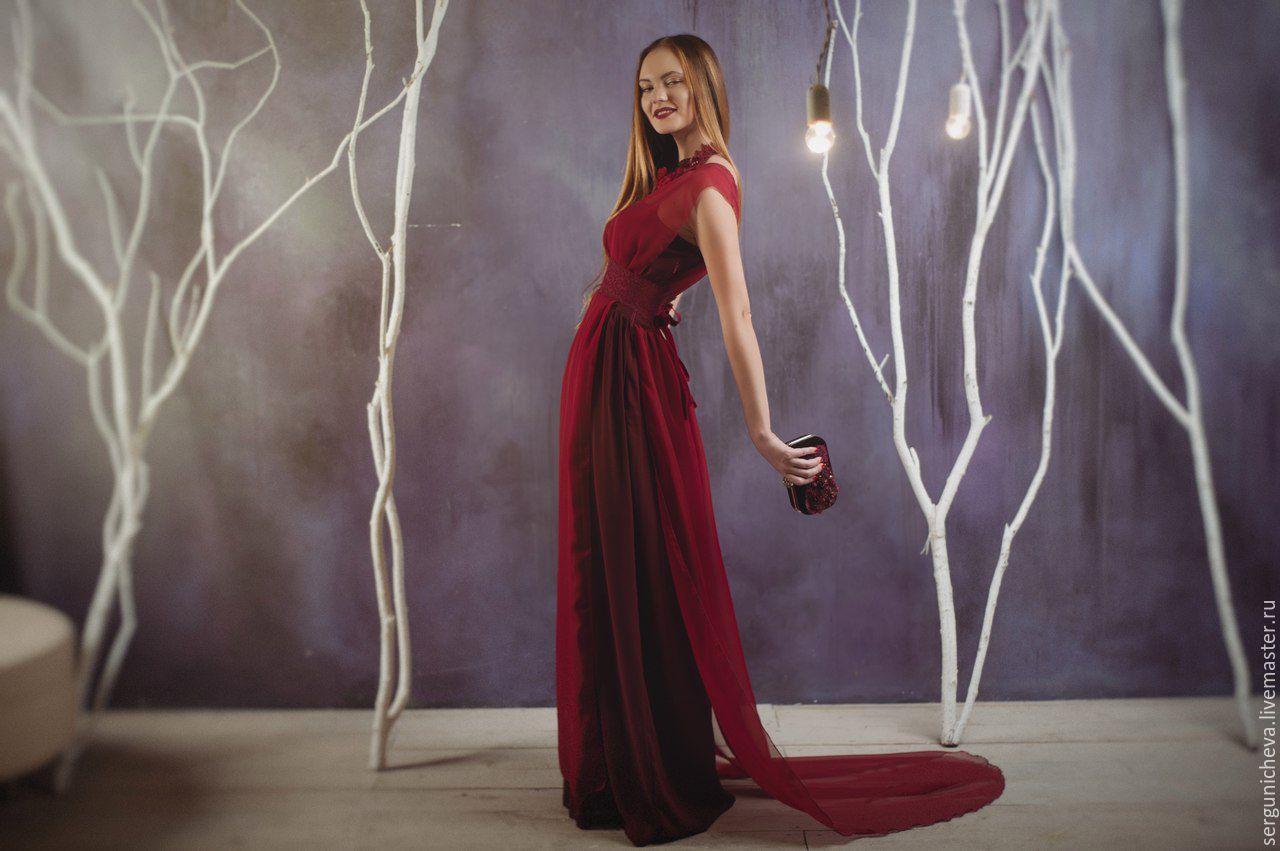 Платья цвета марсала купить в спб