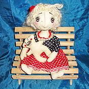 Куклы и игрушки ручной работы. Ярмарка Мастеров - ручная работа Куколка Горошинка. Handmade.