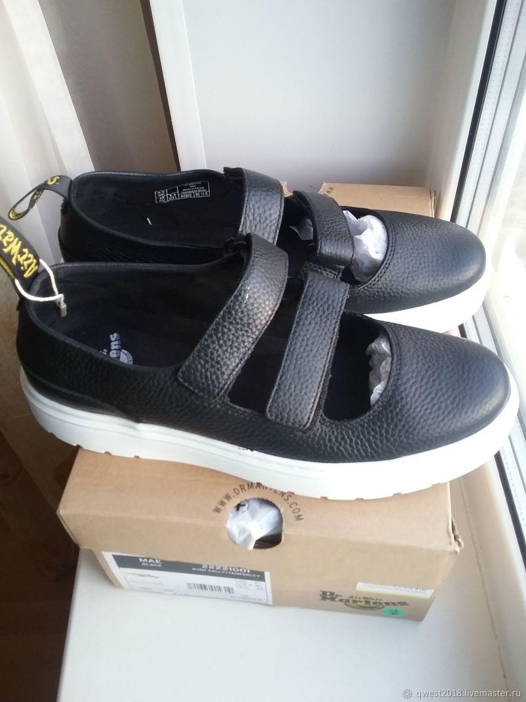 Туфли Dr.Martens черные Размер 40, Обувь, Самара, Фото №1