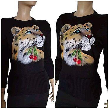 """Одежда ручной работы. Ярмарка Мастеров - ручная работа """"Леопард"""". Handmade."""