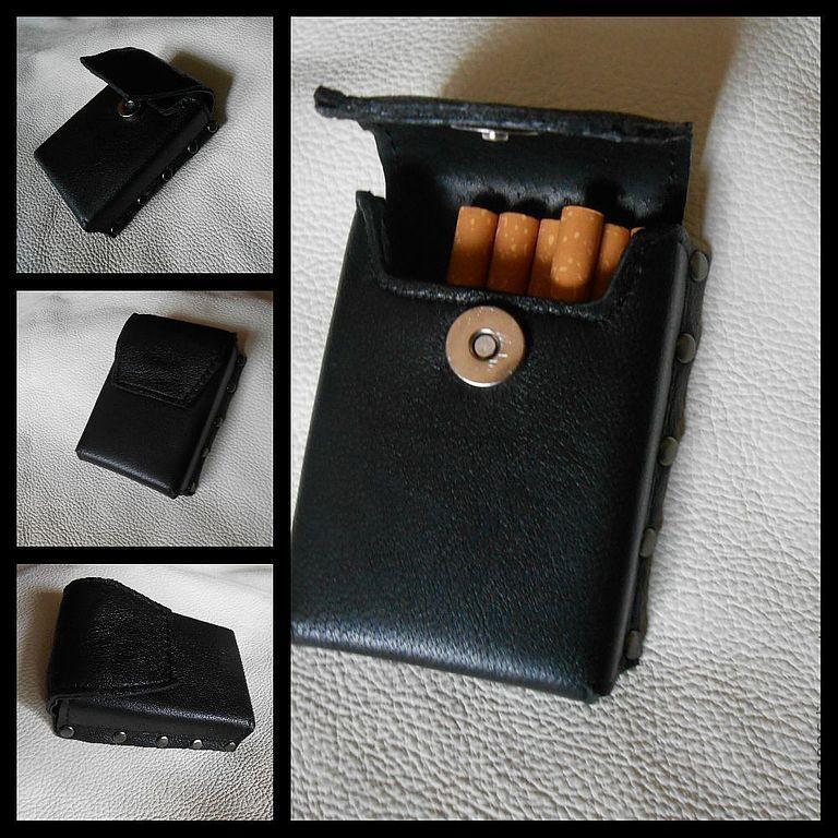 Чехол для сигарет (жесткий) - по заказу Елены