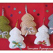 Подарки к праздникам ручной работы. Ярмарка Мастеров - ручная работа Ёлочные игрушки ручной работы. Handmade.