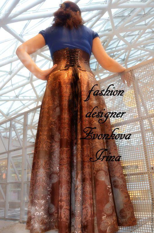 Одежда и аксессуары ручной работы. Ярмарка Мастеров - ручная работа. Купить Корсетная юбка, авторская работа. Handmade. Свадебная юбка