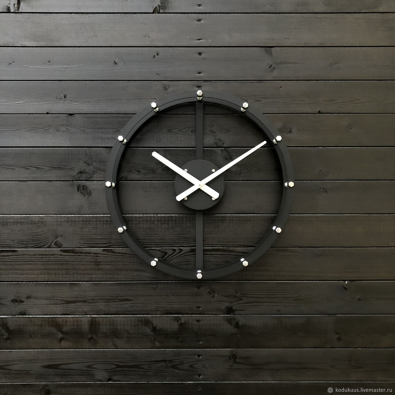 Часы: каркасные часы Raam-2 S 50см, Часы классические, Санкт-Петербург,  Фото №1