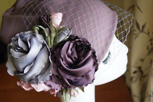 """Шапки ручной работы. Ярмарка Мастеров - ручная работа. Купить Шапочка """"Пепел розы"""". Handmade. Розовый, джерси"""