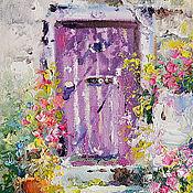 Картины и панно handmade. Livemaster - original item Oil paintings South patios. Handmade.