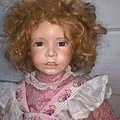 Портретная кукла ручной работы. Ярмарка Мастеров - ручная работа Портретная кукла: Фарфоровая кукла Heidi Plusczok. Handmade.